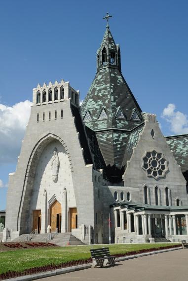 Basilica Notre Dame at Cap-de-la-Madeleine